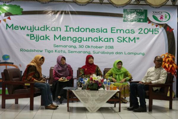 PP Muslimat NU dan YAICI Sosialisasikan Cerdas Memilih Pangan Anak & Bijak Menggunakan Susu Kental Manis