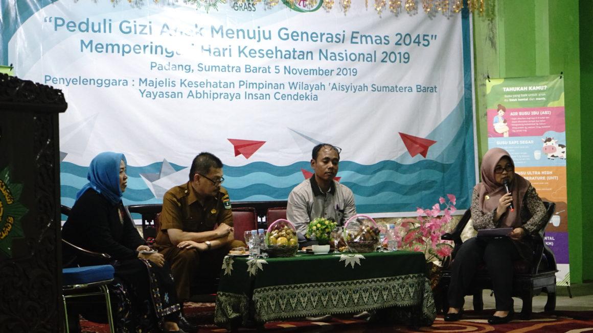 Edukasi Gizi YAICI & PP Aisyiyah  Perbaiki Pola Asuh Demi Membangun Generasi Emas 2045