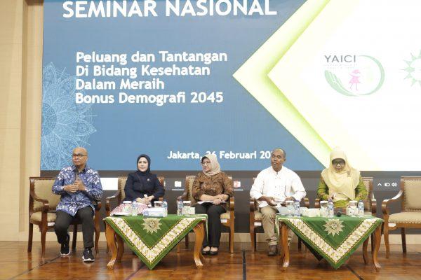 Seminar Nasional PP 'Aisyiyah YAICI : Siapkah Pemerintah Hadapi Bonus Demografi 2045?