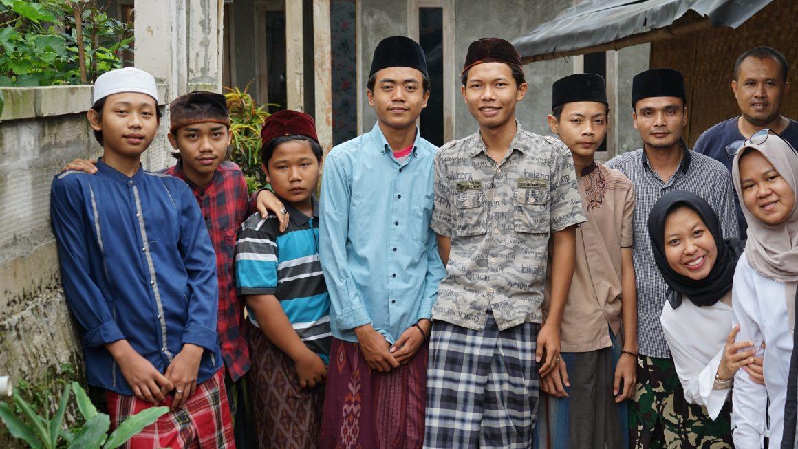 Yaici Berbagi ke Taman Baca Al-Quran Kp Pagutan, Desa Rumpin, Kabupaten Bogor, Jawa Barat